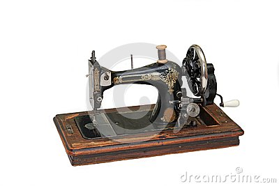 Aging sewing machine