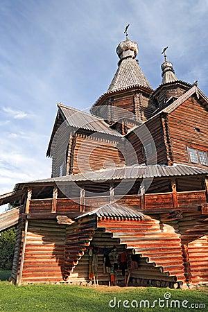 Aging wooden chapel