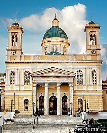 Free Agios Nikolaos Church Piraeus Greece Stock Image - 31312601