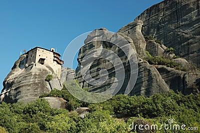 Agios Nikolaos rock monastery,Meteora,Greece
