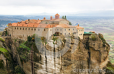 Agios Stephanos Monastery at Meteora, Greece