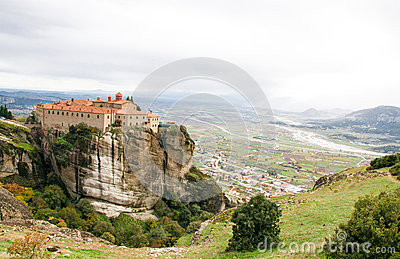 Agios Stephanos Monastery at Meteora, Greece
