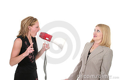 Agitated Two Business Women Team 3