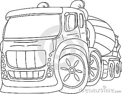 Agitation truck