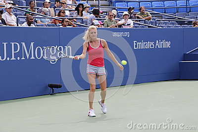 Agnieszka Radwanska Photo stock éditorial