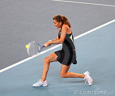 Agnieszka Radwanska (POL) at the China Open Editorial Photography