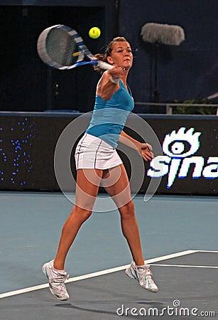 Agnieszka Radwanska (POL), tennis player Editorial Photography