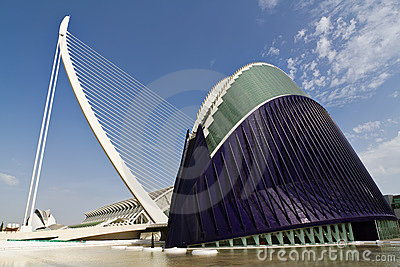 Agora City of Arts and Sciences Valencia, Spain Editorial Photo