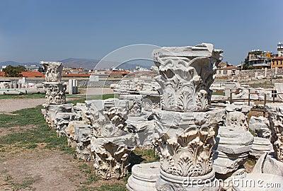 Agora columns (corinthian capital) 1