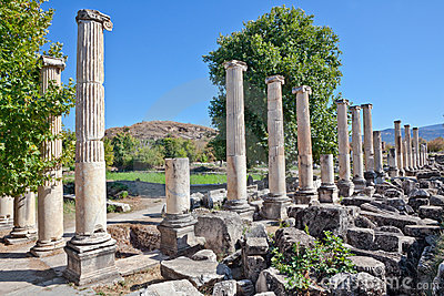 Agora del sud - Aphrodisias