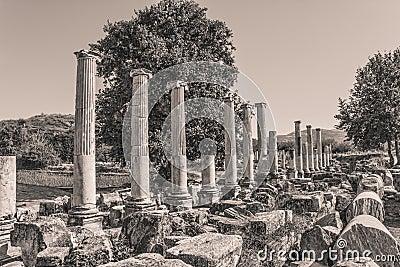 Agora du sud - Aphrodisias