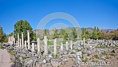 Agora van het zuiden - Aphrodisias