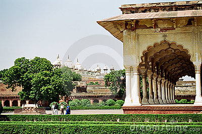 Agra Fort, India Editorial Stock Photo