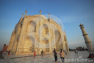 Agra India Taj Mahal Editorial Stock Image