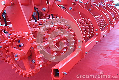 Red giant farming plough