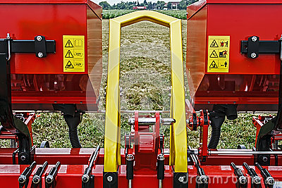 Agricultural equipment. Detail 1