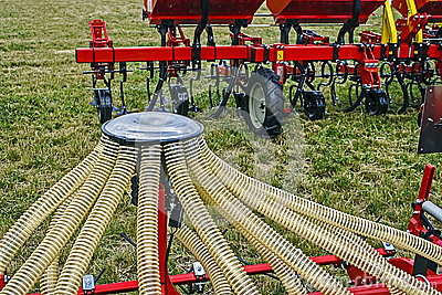 Agricultural equipment. Detail 10