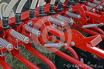 Agricultural equipment. Detail 104