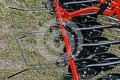 Agricultural equipment. Detail 105