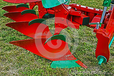 Agricultural equipment. Detail 12