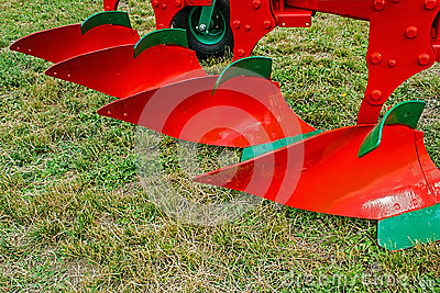 Agricultural equipment. Detail 3