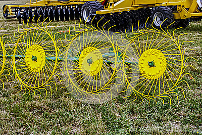 Agricultural equipment. Detail 4