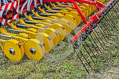 Agricultural equipment. Detail 7