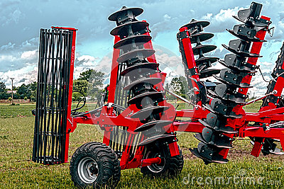 Agricultural equipment. Detail 115