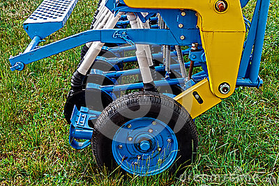 Agricultural equipment. Detail 116