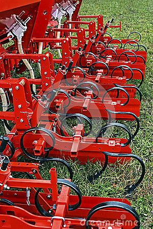 Agricultural equipment. Detail 125