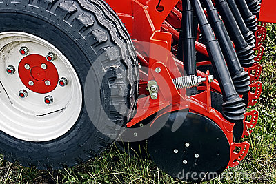 Agricultural equipment. Detail 132