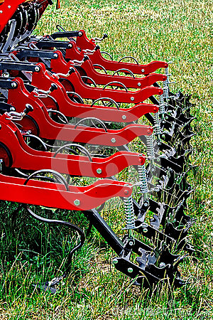 Agricultural equipment. Detail 133