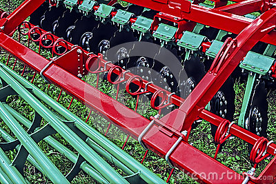 Agricultural equipment. Detail 149