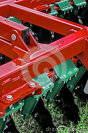 Agricultural equipment. Detail 156