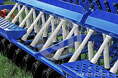 Agricultural equipment. Detail 160