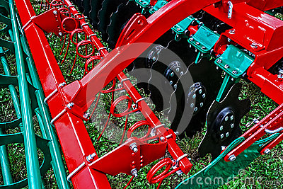 Agricultural equipment. Detail 166