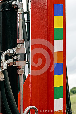 Agricultural equipment. Detail 128