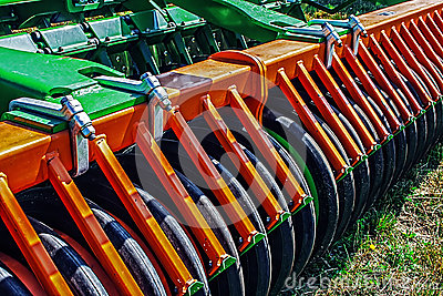 Agricultural equipment.Details 96