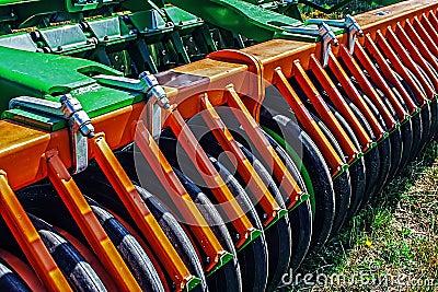 Agricultural equipment.Details 96