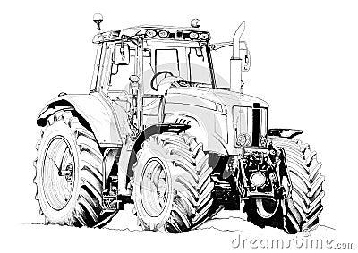 kleurplaten tractors john deere ausmalbilder traktor