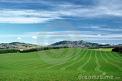 Agriculture hills
