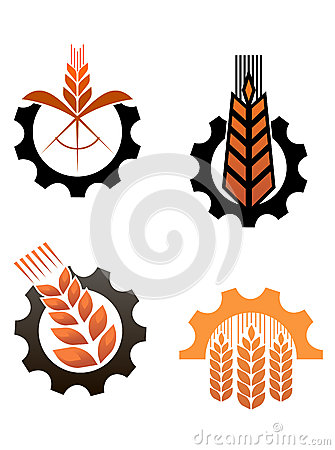 Agriculture icons and smbols