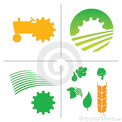 Free Agriculture Logo Royalty Free Stock Photo - 9854885