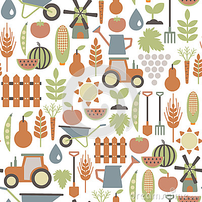 Free Agriculture Pattern Royalty Free Stock Photo - 32804935