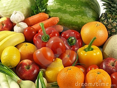 Agriculture - vegetables and fruits