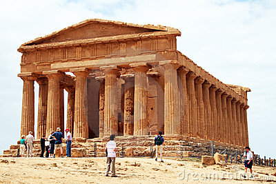 Agrigento Editorial Photography