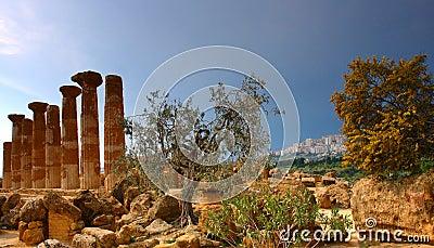 Agrigento  ancient city