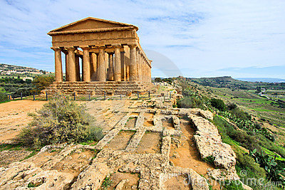 Agrigento - Greek temple