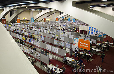 Conference posters Moscone Center Editorial Photo