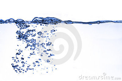 Agua del chapoteo
